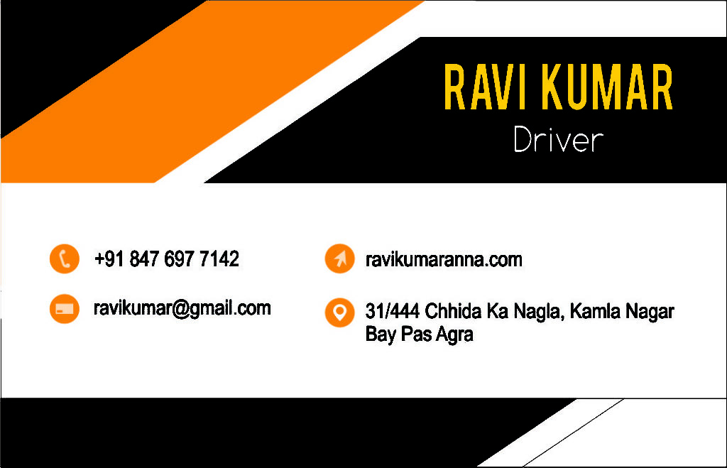 Visiting Card Design Agra  Visiting Card Design  Business Card Design